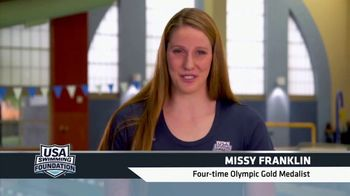 USA Swimming Foundation TV Spot, 'Becoming a Champion' Featuring Missy Franklin - Thumbnail 5