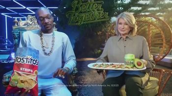 Tostitos TV Spot, 'Good Apart. Better Together' Featuring Snoop Dogg, Martha Stewart