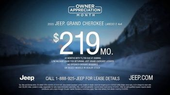 Jeep Owner Appreciation Month TV Spot, 'Bad Roads' Song by Sam Tinnesz [T2] - Thumbnail 6