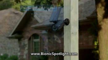 Bionic Spotlight TV Spot, 'Outdoor Lighting' - Thumbnail 4