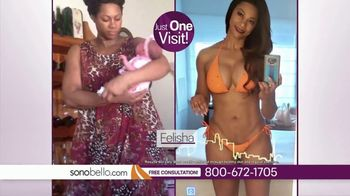 Sono Bello TV Spot, \'Four New Bikinis: One Area Free\' Featuring Andrew Ordon