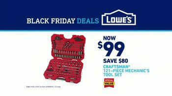 Lowe's Black Friday Deals TV Spot, 'Doing the Holidays Right: Craftsman Tool Set' - Thumbnail 8