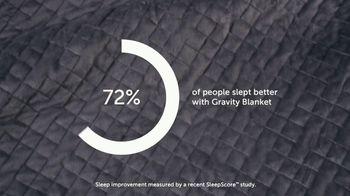 Gravity Blanket TV Spot, 'Proven to Improve Sleep: Save 25 Percent' - Thumbnail 4