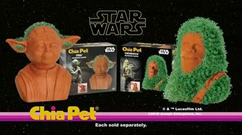 Chia Pet TV Spot, 'Star Wars: Chewbacca and Yoda'