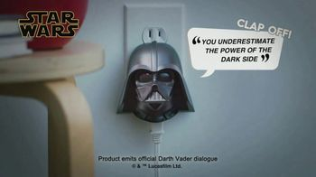 The Clapper TV Spot, 'Affordable Home Automation: Darth Vader' - 872 commercial airings