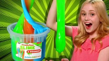 Nickelodeon Buckets of Slime TV Spot, 'Three Pound Buckets of Slime'