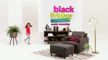 Ashley HomeStore Black Friday Sale TV Spot, 'Ends Monday: Up to 50 Percent' Song By Midnight Riot - Thumbnail 1