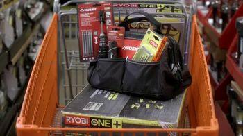 The Home Depot Black Friday Savings TV Spot, 'Ryobi One+ gratis' [Spanish] - Thumbnail 3