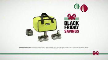 The Home Depot Black Friday Savings TV Spot, 'Ryobi One+ gratis' [Spanish] - Thumbnail 6