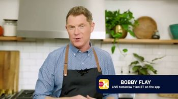 Food Network Kitchen App TV Spot, 'Live With Bobby Flay'