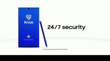 Samsung Galaxy Note10 TV Spot, 'Business Security Solutions: Taxi' - Thumbnail 10