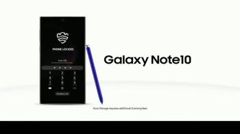 Samsung Galaxy Note10 TV Spot, 'Business Security Solutions: Taxi' - Thumbnail 9