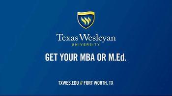 Texas Wesleyan University TV Spot, 'New and Improved MBA & M.Ed. Classrooms' - Thumbnail 9