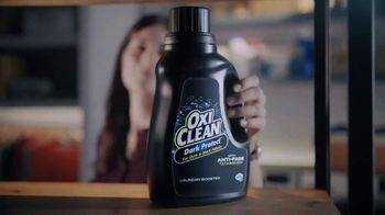 OxiClean Dark Protect Laundry Booster TV Spot, 'Keep Dark Clothes Dark Longer' - Thumbnail 3