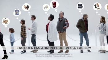 JCPenney Black Friday Por Siempre TV Spot, 'Botas, Keurig, diamantes y Levi's' [Spanish] - 306 commercial airings