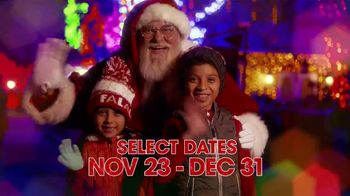 Six Flags Cyber Sale TV Spot, 'Holiday in the Park: Season Passes'