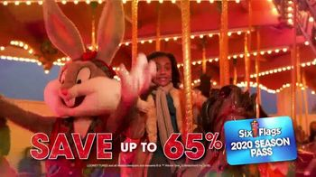 Six Flags Cyber Sale TV Spot, 'Holiday in the Park: Season Passes' - Thumbnail 4