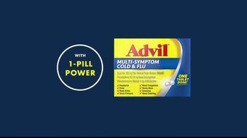 Advil Multi-Sympton Cold & Flu TV Spot, 'Cancel Your Cold' - Thumbnail 7