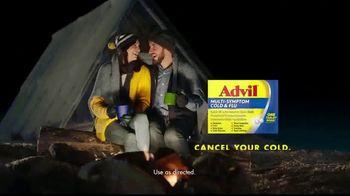 Advil Multi-Sympton Cold & Flu TV Spot, 'Cancel Your Cold' - Thumbnail 9