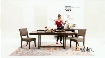 Ashley HomeStore Black Friday Sale TV Spot, 'Starmore Table' Song by Midnight Riot - Thumbnail 8