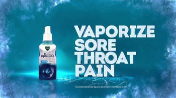 Vicks VapoCOOL Severe TV Spot, 'Vaporize Sore Throat Pain: Spray' - Thumbnail 7