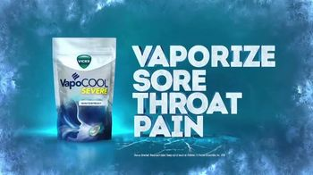 Vicks VapoCOOL Severe TV Spot, 'Vaporize Sore Throat Pain: Spray' - Thumbnail 6