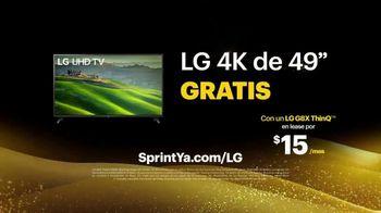 Sprint Ofertas de Black Friday TV Spot, 'Roadside Bar: LG TV' con Prince Royce [Spanish] - Thumbnail 6
