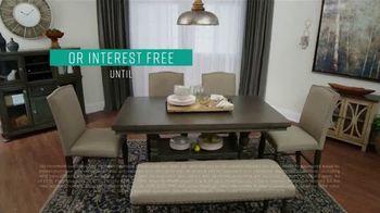 Ashley HomeStore Black Friday Sneak Peak TV Spot, 'Aldwin Panel Bed, Harrietson Sofa' - Thumbnail 5