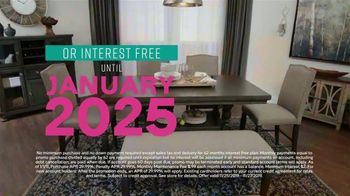 Ashley HomeStore Black Friday Sneak Peak TV Spot, 'Aldwin Panel Bed, Harrietson Sofa' - Thumbnail 6