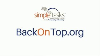 ACR Simple Tasks TV Spot, 'Get Back on Top' Featuring Venus Williams - Thumbnail 10