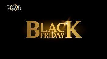 Tennis Express Black Friday Sale TV Spot, 'The Best Holiday Doorbuster Deals'
