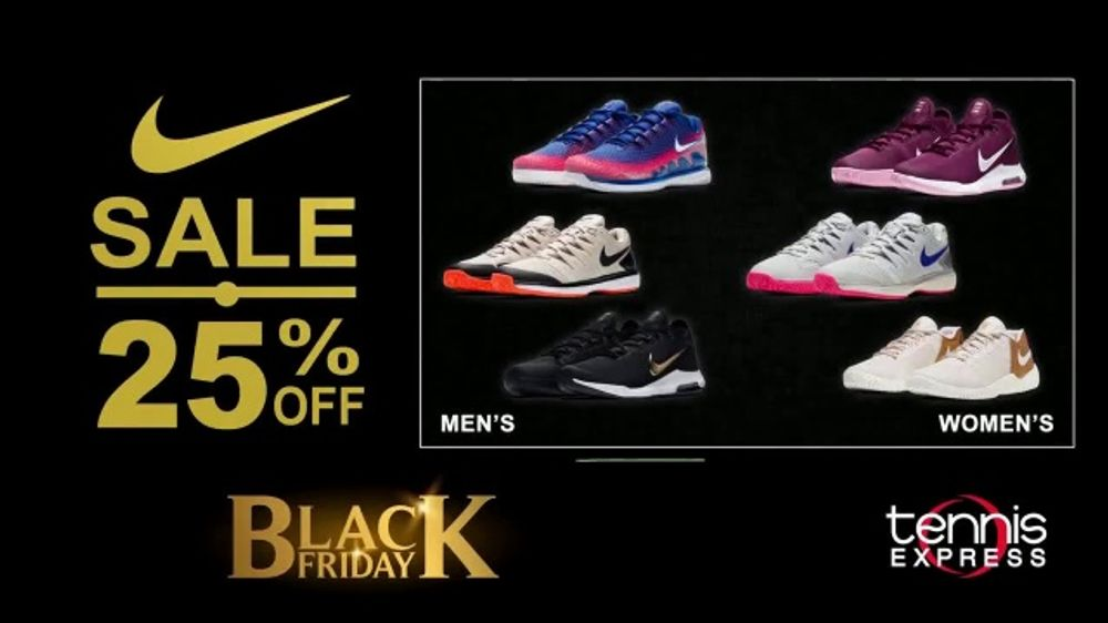 Tennis Express Black Friday Sale TV