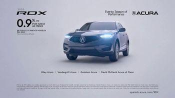 Acura Evento Season of Performance TV Spot, 'Lo divertido: RDX' [Spanish] [T2] - 16 commercial airings