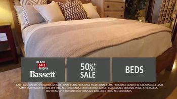 Bassett Black Friday Sale TV Spot, '50 Percent Off' - Thumbnail 8