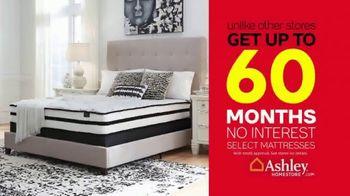 Ashley HomeStore Black Friday Sale TV Spot, 'Top Mattress Brands: 60 Months No Interest' - Thumbnail 5