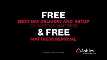Ashley HomeStore Black Friday Sale TV Spot, 'Top Mattress Brands: 60 Months No Interest' - Thumbnail 6