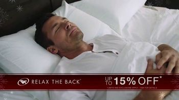 Relax the Back Black Friday Savings TV Spot, 'Up to 15% Off'