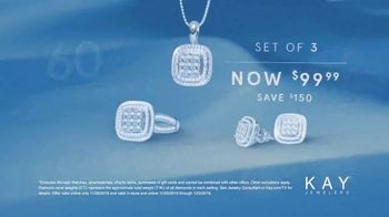 Kay Jewelers Black Friday Event TV Spot, 'Three Piece Diamond Set' - Thumbnail 5