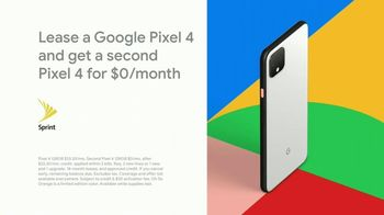 Google Pixel 4 TV Spot, 'Sprint: Motion Sense' Song by 3 One Oh - Thumbnail 10