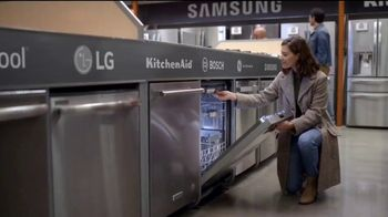 The Home Depot Black Friday Savings TV Spot, 'Whirlpool Stainless Steel Kitchen Package' - Thumbnail 1