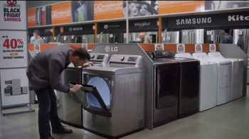The Home Depot Black Friday Savings TV Spot, 'Whirlpool Stainless Steel Kitchen Package' - Thumbnail 3