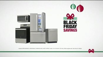 The Home Depot Black Friday Savings TV Spot, 'Whirlpool Stainless Steel Kitchen Package' - Thumbnail 7