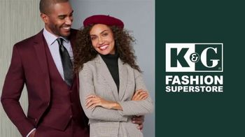 K&G Fashion Superstore Thanksgiving Event TV Spot, 'Men's Suit Separates, Women's Suits and Shoes' - Thumbnail 1