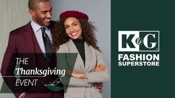 K&G Fashion Superstore Thanksgiving Event TV Spot, 'Men's Suit Separates, Women's Suits and Shoes' - Thumbnail 2