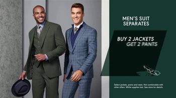 K&G Fashion Superstore Thanksgiving Event TV Spot, 'Men's Suit Separates, Women's Suits and Shoes' - Thumbnail 3