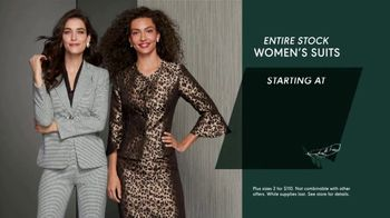 K&G Fashion Superstore Thanksgiving Event TV Spot, 'Men's Suit Separates, Women's Suits and Shoes' - Thumbnail 4