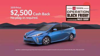 Toyota Operation Black Friday Sales Event TV Spot, 'Prius' [T2] - Thumbnail 3