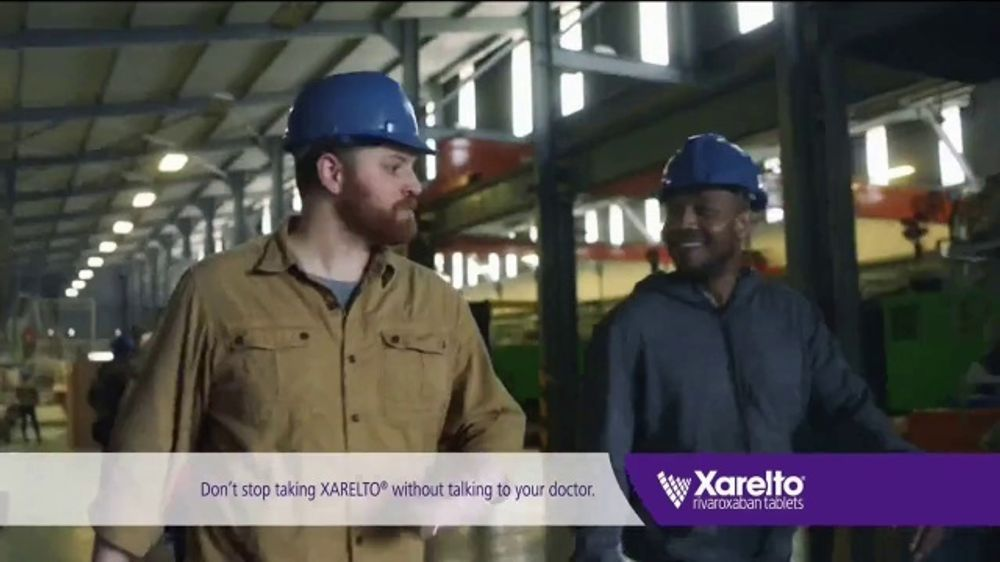 Xarelto TV Commercial, 'Not Today: Factory'