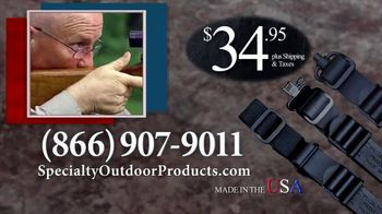 Specialty Outdoor Products LLC Ultimate Firearm Sling TV Spot, 'Any Firearm' - Thumbnail 6
