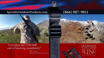 Specialty Outdoor Products LLC Ultimate Firearm Sling TV Spot, 'Any Firearm' - Thumbnail 2